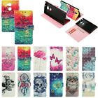 3D Bling PU Leather Wallet Card Slots Case Cover Stand For LG Motorola ZTE Nokia