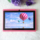 "1x Q88 7"" A33 Quad Core Allwinner 512MB+4GB Android 4.4 WiFi eBook Reader Tablet"
