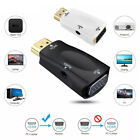 HDMI Male to VGA Female Adapter 1080P Video Converter  Audio 3.5mm Jack Output