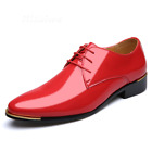 Mens Classic Dress Shoes Business Office White Red Designer Cheap Oxford Shoes