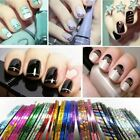 30 Colors Nail Art Striping Tape Line Decoration Sticker Roll UK