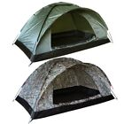 LIGHTWEIGHT 2 PERSON RANGER TENT MOSSI NET DOOR BIVI ARMY BTP CAMO CAMPING