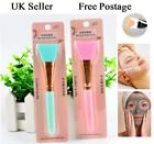 Silicone Face Mask Brush for Facials Hairless Applicator Rhinestone Handle 1PC