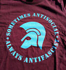 Trojan - sometimes antisocial - always antifascist woman T-Shirt S-XL Girlie