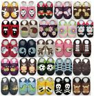 6-12 months US 3-4 Minishoezoo Slippers soft sole Leather Boy Girl Unisex Shoe