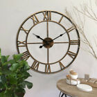 Wrought iron wall-mounted clock Decorative wall clocks Decoration For Home
