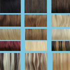 15-30inch any colors&Size Straight clips in 100% Real Human Hair Extensions