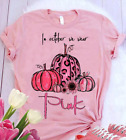 In October We Wear Pink Pumpkin Breast Cancer Awareness T-shirt