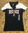 MLB Boston Red Sox Women's T Shirt Multiple Sizes NWT Patriotic Colors