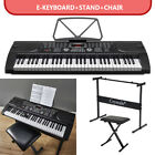 Keyboard Bundle With 4 Different 61 Keys Keyboards With Stand Chair Accessories