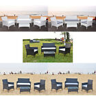 4 X Outdoor Rattan Wicker Outdoor Garden Furniture  Set Patio Conservatory