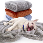 Dog Blanket for Large Dogs Fleece Warm Pet Dog Bed Kennel Cushion Throw Washable