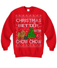 Chow Chow Christmas Ugly Sweater, Chow Chow Christmas Sweater Gifts