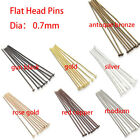 New 200pcs Wholesale 16-70mm Eye Pins Head Pins Ball Pins DIY Jewelry Findings
