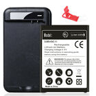 For LG Stylo 3 / Stylo 3 Plus BL-44E1F Replacement Battery 4320mAh w/ AC Charger