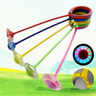 Flashing Skip Ball Skipit Ring Ankle Jump Rope Exercise Skipping Fun Toy New