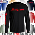 Snap-On Long T-Shirt Tools Mechanic Shop Auto Parts Racing Repair Power Car Van image