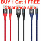 Smart Power Off LED Auto Disconnect Data USB Charge Cable iPhone 11 Pro/11/XS/X