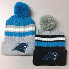 Carolina Panthers Pom Pom Beanie Skull Cap Hat Embroidered $10.75 USD on eBay