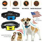 Waterproof No Shock Dog Anti Bark Collar Pet Train Sound Vibration Stop Barking