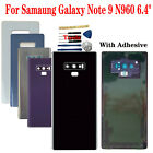 6.4* For Samaung Galaxy Note 9 N960 Glass Rear Back Door Housing Battery Cover