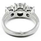 1.14ct H-SI1 Round Natural Certified Diamonds 18kw Gold Classic Engagement Ring