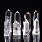 Natural Flourite Amethyst Rose Clear Quartz Crystal Point Obelisk Wand Healing