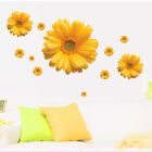 Home Living Room Pvc Decoration Colorful Flowers Diy Wall Sticker
