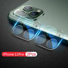 2Pcs Tempered Glass 9D Camera Lens Scrath Protective Film For iPhone 11 Pro Max