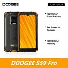 IP68 DOOGEE S40 Lite Quad Core 2GB 16GB Android 9.0 Rugged Phone Mobile Phone
