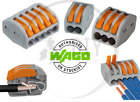 Wago 222 Electrical Connectors Wire Block Clamp Clips Fast Cable Reusable Lever