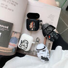 Cute New Star Wars Silicone Earphone Case For Apple AirPods 1 / 2 Cover Wireless $8.99 USD on eBay