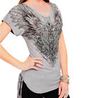 Harley-Davidson® Women's Wing Sing Sing Embellished Short Sleeve Tee $29.95 USD on eBay