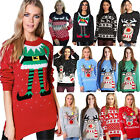 Ladies Womens Mens unisex Jumper Christmas Festival Top New Xmas Novelty Sweater
