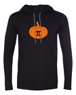 Mens Hooded Pumpkin Pi Shirt Math Geeks Funny Humor Halloween Thanksgiving Pie