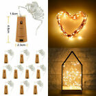20LED 2M Cork Bottle Fairy String Lights Festival Wedding Party Decoration New*