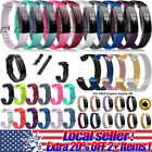 Silicone Stainless Steel Watch Band Wrist Strap For Fitbit Inspire/Inspire HR ol