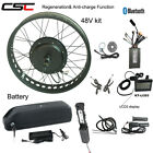 Ebike Conversion Kit 48V 1000W Snow ebike Fat Tyre Bike With Battery And Charger