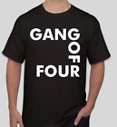 Gang of Four T shirt Tee Rock Underground Music Punk Medal Rock Band image
