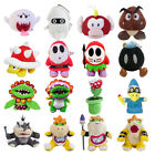 5 14'' Super Mario Bros. Series Plush Toy Bowser Koopa Christmas Gift