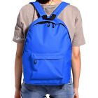 Wholesales 5pcs Blue Mens Unisex Canvas Casual Trip Back To School Backpack Bag