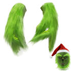 XMAS Party The Grinch Glove Costume Cosplay Plush Gloves Props Fancy Christmas