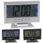Digital Display Thermometer Smart LED Clock LCD Alarm Calendar Weather Snooze