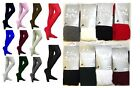 Girls Cotton Rich Super Soft School Tights Age 3  13 Years Assorted Colours