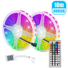 Купить 5M LED Strip Light 3528/5050 SMD RGB 300Leds 44Key IR Controller W/ Power Supply