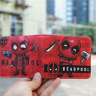 Marvel Venom Deadpool PU leather wallet with ID card holder short Bi-Fold Purse