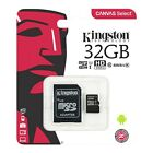 KINGSTON MICRO SD CARD 32GB CLASS 10 TF for Android Samsung Nintendo Tablets