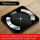 Bluetooth Scales Intelligent Floor Body Fat Scale Smart LED Display Body Weight