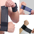 Elastic Wrist Knee Bandage Ankle Elbow Arm Gym Brace Wrap Support Band Sports US $5.01 USD on eBay