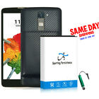 Upgraded for LG Stylo 2 Plus MS550 K550 Extended 10900mAh Battery Cover Charger